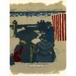 Saint-Jean-de-Luz: la plage (Prints from the Mourlot Press)