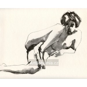 Ležící akt (1971) LII