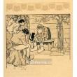 Černá kočka a stařec (Kocourkov) (1903)