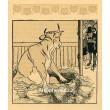 Návštěva krávy (Kocourkov) (1903)