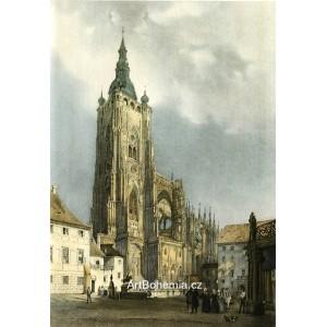 Chrám sv.Víta z roku 1845