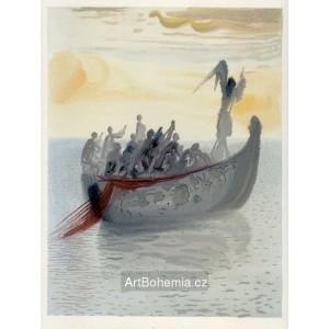 La Barque du nocher (Le Purgatoire: Chant 2), opus 1074
