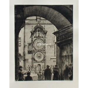 Před orlojem (Staroměstské náměstí)
