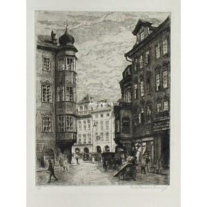 Od malého rynečku (Staroměstské náměstí)
