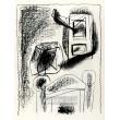 Le Hibou au crayon (Owl in crayon) (21.1.1947)