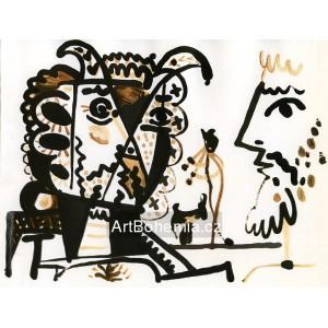 Faune et mousquetaire (1955) - Le mystère Picasso