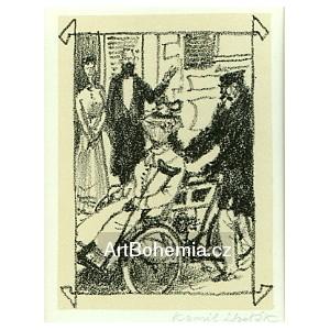 Dáma v městě na tricyklu (Odilla čili Cesta do Lourd)