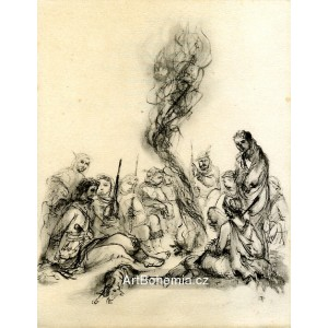 U ohně (K.H.Mácha: Máj)
