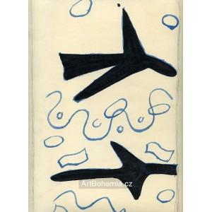 Deux oiseaux - couverte (1961)