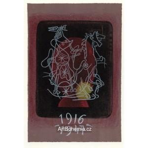 Cahier de Braque - couverte (1947), opus 13