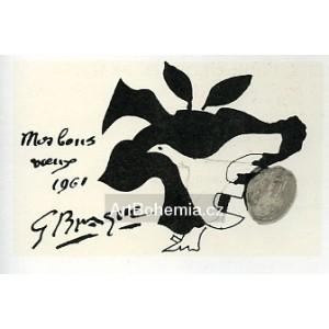 Carte de voeux pour Georges Braque (1961), opus 109