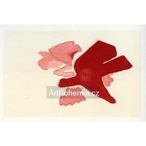 Carte de voeux pour Georges Braque (1963), opus 110