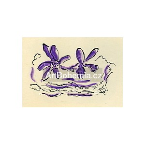 Deux fleurs violettes - Lettera amorosa (1963), opus 129