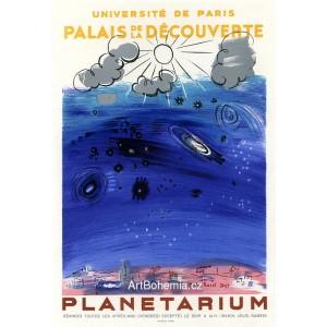 Planetarium - Palais de la découverte, 1956 (Les Affiches originales)