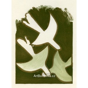 Les Oiseaux blancs (Sur 4 Murs a la Galerie Maeght, 1958), opus 45