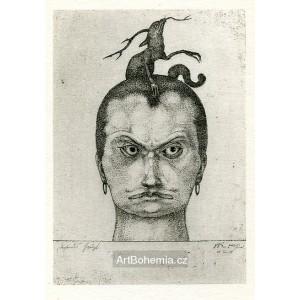 Drohendes Haupt (Head of Menace) (März 1905)