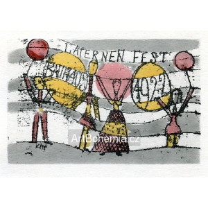 Laternenfest, Bauhaus (Latern Party) (1922)