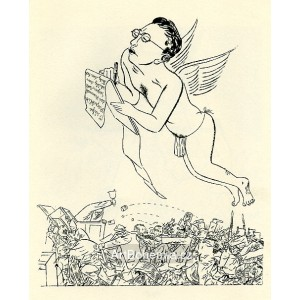 Der Dichter schwebet über den Parteien (1925)
