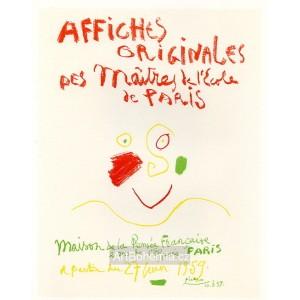 Affiches originales des Maîtres de l´École de Paris, opus 323 (10.6.1959)