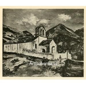 Chapelle des Pyrénées a Luz-Saint-Sauveur