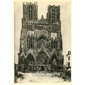 Cathédrale de Reims (1910)