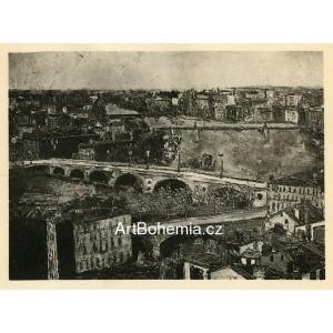 Église et Pont de Toulouse (1910)
