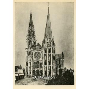 Cathédrale de Chartres (1913)