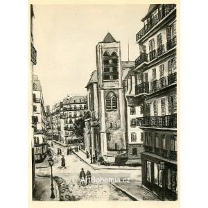 Église Saint-Nicolas du Chardonnet a Paris (1913)