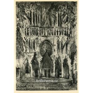Cathédrale de Reims (1914)