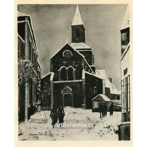 Église Sous la Neige (1925)