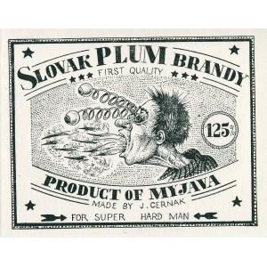Slovak Plum Brandy I