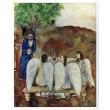 Les trois Anges recus par Abraham - Abraham empfängt die drei Engel (Le Message)