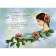Červen - Dívka skvěty šípku