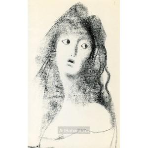 Dívka s rouškou