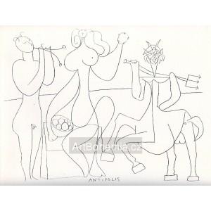 Antipolis - Mythological drawing I (1946)