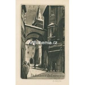 Týnská ulička v Praze