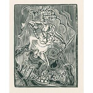 Ďábelská spisovatelka (Groteskní figura)
