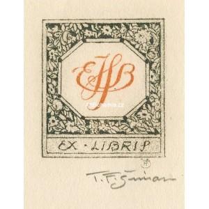 Monogram EHB (Edna Boetie Hopkins), opus 3