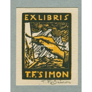 Malující ruka - EXL T.F.Šimon, opus 26