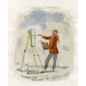 Malíř v plenéru