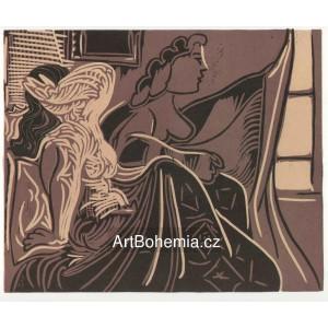 Deux femmes pres de la fenetre, opus 924 (15.11.1959)