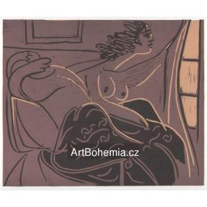 Femme regardant par la fenetre, opus 925 (1959)