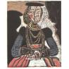 Buste de femme, d´apres Cranach le Jeune, opus 859 (4.7.1958)