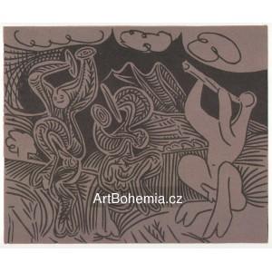 Danseurs et musicien, opus 939 (1959)
