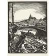 Výhled z nábřeží (Vltava v městě - žáci T.F.Šimona X)
