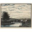 Dřevěný most (práce žáků Adolfa Zahela)