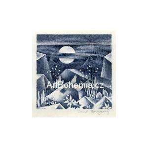 Krajina se slavíkem a měsícem (1921)