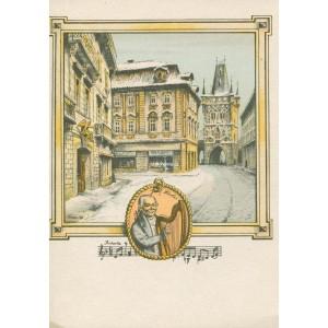Hostinec U zlatého Anděla v Celetné - Mozart v Praze