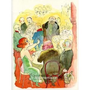 Soirée (1922) (IX)