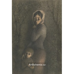 Dítě s maminkou (Poklad)